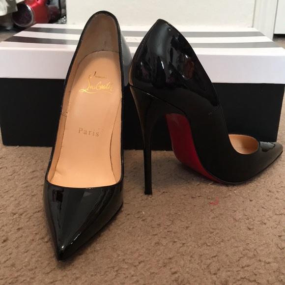 aa6ce6d6538 Christian Louboutin Shoes - Size 34 Christian Louboutin So Kate heels